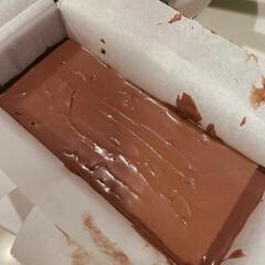 チョコレートチーズケーキ/チーズケーキ/手作りお菓子/お菓子作り/バレンタイン/ホワイトデー/... チョコレートチーズケーキを焼きました! …(3枚目)