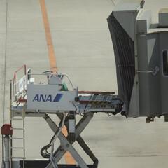 ボーディングブリッジ/飛行機/空港/広島空港/グランドハンドリング/PBB/... 一人前になるために… ボーディングブリッ…