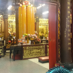 台湾/寺院 台湾の寺院訪問! 日本にはない景色だなあ…
