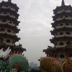 台湾/左営 台湾の左営にある有名な建物。