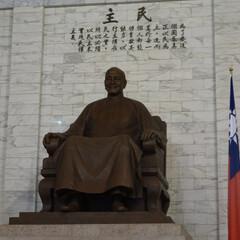 台湾/蒋介石 蒋介石の銅像 台湾の父