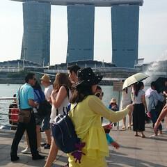 シンガポール/マリーナベイサンズ/海外 HELLO!SINGAPORE! シンガ…
