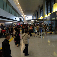 成田/成田空港/NAA/YOUは何しに日本へ?/到着ロビー/ターミナルビル/... YOUは何しに日本へ?でおなじみの成田空…