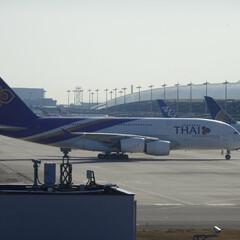 関空/関西空港/関西国際空港/KIX/A380/空港/... 世界最大A380 登場!これを見るために…