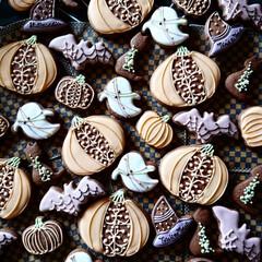 リミとも部/ハロウィン/アイシングクッキー/100均deハロウィン かわいいクッキー大集合 Trick or…