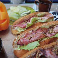 キャンプ飯/おうちごはん お外で食べるとどうしてこんなに 美味しい…(1枚目)