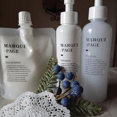 MARQUE-PAGE マルクパージュ クレンジング・洗顔・美容保湿ゲル 3セット | MARQUE-PAGE(スキンケアトライアルセット)を使ったクチコミ「クレンジングがすごい⤴️⤴️ 軽く擦るだ…」
