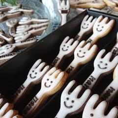 アイシングクッキー 笑顔でいれる事が幸せ 笑顔でいれば幸せ❤️