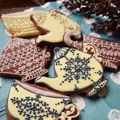 ティータイム/icingcookies/手作りクッキー/アイシングクッキー お気に入りのティーポットとティーカップを…