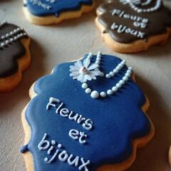 アイシングクッキー/アンティーク セレブな町でセレブな展示会💍 ブラントの…(1枚目)
