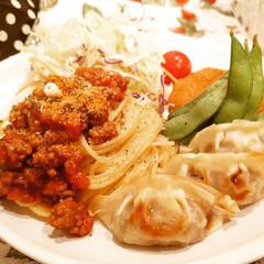 食器/カトラリー/キッチン雑貨/食卓/キッチンアイテム/キッチン/... ワンプレートごはん❤  大好きなミートス…(1枚目)