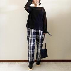 ママファッション/秋コーデ/ファッション/おしゃれ/GU 𓃟ﻌﻌﻌ❤︎𓃟ﻌﻌﻌ❤︎ * #ootd…(1枚目)