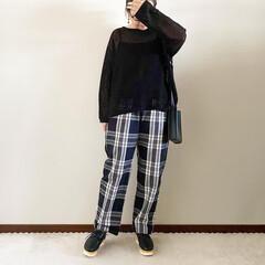 ママファッション/秋コーデ/ファッション/おしゃれ/GU 𓃟ﻌﻌﻌ❤︎𓃟ﻌﻌﻌ❤︎ * #ootd…(2枚目)