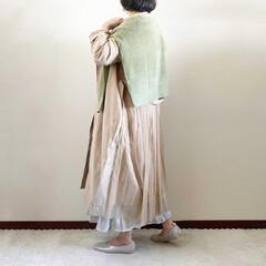 ピスタチオグリーン/トレンチコート/春コーデ/ファッション/おすすめアイテム @momentplus_official…