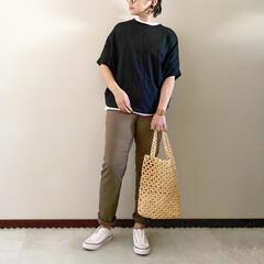 レイヤード/ママファッション/夏コーデ/おしゃれ/最近のコーデ 𓃟ﻌﻌﻌ❤︎𓃟ﻌﻌﻌ❤︎ * #ootd…