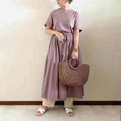 コーデ/レイヤード/ママファッション/夏コーデ/おしゃれ 𓃟ﻌﻌﻌ❤︎𓃟ﻌﻌﻌ❤︎ * #ootd…