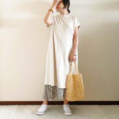 キレイめカジュアル/ママファッション/夏コーデ/おしゃれ/夏ファッション 𓃟ﻌﻌﻌ❤︎𓃟ﻌﻌﻌ❤︎ * #ootd…