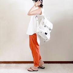 バックパック/キャップ女子/ママファッション/夏コーデ/おしゃれ 𓃟ﻌﻌﻌ❤︎𓃟ﻌﻌﻌ❤︎ * #ootd…