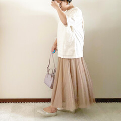 スクエアミニバッグ/GU/春コーデ/ママファッション/ファッション 𓃟ﻌﻌﻌ❤︎𓃟ﻌﻌﻌ❤︎ * #ootd…