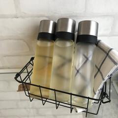 密封醤油差し | iwaki(調味料ケース)を使ったクチコミ「【イワキ 醤油差し】  調味料の収納はイ…」