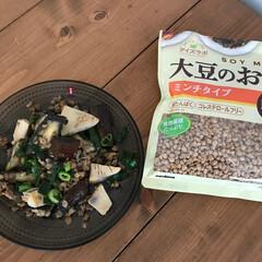 イッタラ カステヘルミ グレー 5923 プレート 17cm   イッタラ(皿)を使ったクチコミ「【COSTCO】 コストコで購入した大豆…」