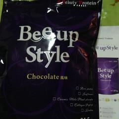 Bee up Style Chocolate風味 | Bee up Style(ソイプロテイン)を使ったクチコミ「スマホのカメラが不調により、写真がちゃん…」