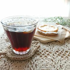 アイスコーヒー/コーヒー/至福のひととき/おやつタイム/LIMIAスイーツ愛好会/ハンドメイド きのうのおやつ  急冷アイスコーヒー(*…