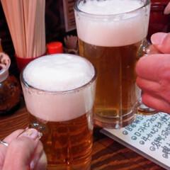 ハッピー/レモンサワー/生ビール/サクサク衣/ふくろう/串カツ 週の真ん中水曜日 日本橋串カツふくろう🦉…