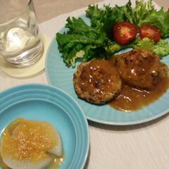 柚子味噌/ふろふき大根/さば缶/さばハンバーグ/さばーぐ 昨日は、さばーぐ❤️に ふろふき大根柚子…