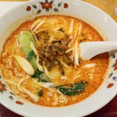 タンタン麺/長崎ちゃんぽん 久しぶり中央軒🍜 チャンポン 担々麺 ど…(3枚目)