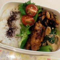 台湾/お昼休み/お昼ごはん/常備菜/手抜き弁当/遠くへいきたい 今日のお弁当 ちょっと和風╰(*´︶`*…