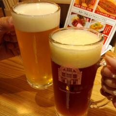 道頓堀/地ビール/さく呑み/なんば駅/近鉄/なんば駅構内/... ごちぶらナンバ 道頓堀麦酒スタンドで さ…