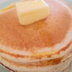 昭和の味/懐かしい味/ホットケーキ/土曜日の朝 昭和なホットケーキ🥞  昔、おかあさんと…(2枚目)