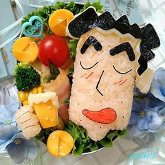 LIMIAグルメ部/LIMIAごはんクラブ/お父さんのお弁当/お昼ご飯/ランチタイム/面白いお弁当/... こちらもまた『母の日弁当』で「野原みさえ…(2枚目)