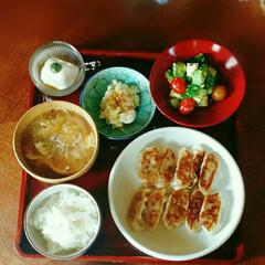 夕食 今日の娘の夕ごはん(^-^)
