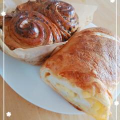 ふわふわ/美味しい/パン/セリア/ご飯柄/ポーチ/... スーパーの中にあるパン屋さん🍞💓 ふわふ…