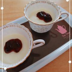 60点でも旨いらしい/片栗粉で作るおやつ/ミルクプリン/簡単/ラク家事 片栗粉で作るミルクプリ~ン🍮(*´ω`*…
