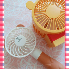 涼しい/ハンディファン/ミニ扇風機/雑貨/暮らし くまさん🐻プーさんミニ扇風機(*´ー`*…