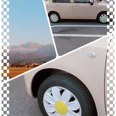 可愛い/車/おでかけ/おすすめアイテム/暮らし/フォロー大歓迎 お出かけ中に🚙🎶 とっても可愛いピンクの…