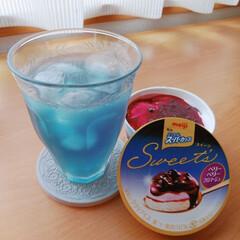 アイスは控えめに/バタフライピー/ハーブティー/青い飲み物/無味無臭/美容と健康 バタフライピー☆ハーブティー(*^^*)…