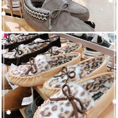 しまむら/モカシン/靴/スターバックス/おでかけ/ファッション/... モカシンシューズ可愛いなぁ(^ー^*)♡…