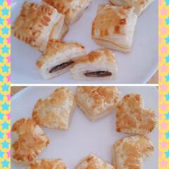 お菓子作り/材料少なめ/簡単&時短/チョコパイ/おすすめアイテム/暮らし 今日は青空でいい気分~🌸 簡単チョコパイ…