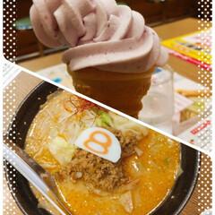 ソフトクリーム/ラーメン/おでかけ/おすすめアイテム/暮らし/フォロー大歓迎 昨日は担々麺🍜💕(o^^o)🎵 1000…