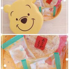 可愛い箱捨てられない/お菓子/おすすめアイテム/暮らし 可愛いプーさんの箱に入ったお菓子✨ 頂き…(1枚目)