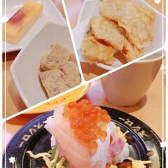 お腹満足/スシロー/スタミナ盛り/スタミナ飯/スタミナご飯/夏に向けて/... お寿司屋さんへ行って来たよ~(o^^o)…