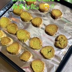 フォロー大歓迎/LIMIAファン/手作りクッキー/おやつ作り/抹茶クッキー/バレンタイン2020/... 今日も、手作りクッキー出来上がりました。…