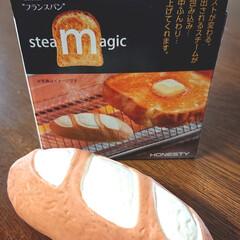トースト/スチームトースト/雑貨/生活雑貨/インテリア雑貨/雑貨だいすき/... 食パンと一緒にトースターへ入れると スチ…(1枚目)