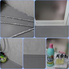 ゴムパッキン のカビ?何を使.../浴室/住まい 浴室のお掃除は日頃 ざ~っとしかしてなく…