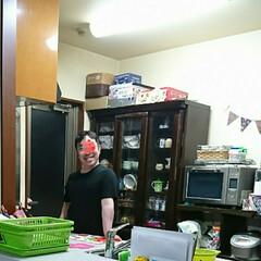 笑顔^^;💦/何かいい物無いかな?/キッチン 我が家のkitchenスペースは今の㍇…(1枚目)
