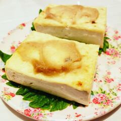 つまみ/フォロー大歓迎/至福のひととき/暮らし さぁ田楽豆腐食べよう😁